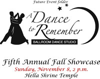A Dance To Remember Fifth Annual Fall Showcase